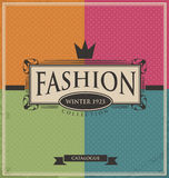 Vintage fashion background Royalty Free Stock Images