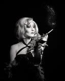 Vintage fashion girl Stock Photo