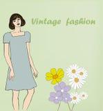 Vintage fashion Royalty Free Stock Photo
