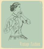 Vintage fashion Stock Images