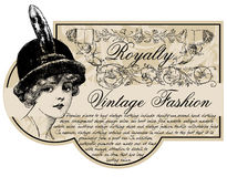Vintage fashion Stock Photography