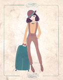 Vintage fashion Royalty Free Stock Images