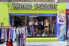 Vintage fashion shop in Brick Lane Royalty Free Stock Images