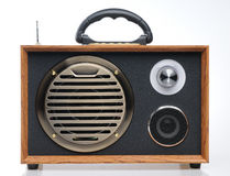 Vintage fashioned radio Royalty Free Stock Images