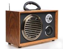 Vintage fashioned radio Stock Images