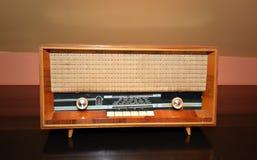 Vintage fashioned radio Stock Image