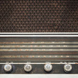 Vintage fashioned radio Royalty Free Stock Photo