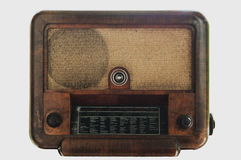 Vintage fashioned radio Royalty Free Stock Photos