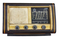 Vintage fashioned radio Stock Images