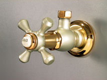 Vintage Faucet Tap design Stock Photos