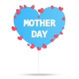 Vintage feliz do estilo do papel do dia da mãe, convite do cartão, cartão do cartaz do fundo da mamã do amor, ilustração do vetor Fotos de Stock Royalty Free