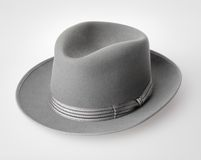 Vintage felt hat Stock Photo