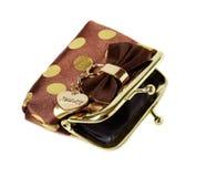 Vintage female purse Stock Photography