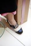 Vintage Female Shoe Stock Photos