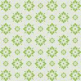 Vintage looking green artistic floral abstract design royalty free stock photography