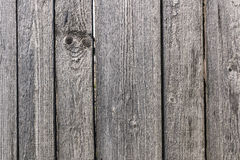Vintage fence. Grey planks wood texture fence Stock Photos