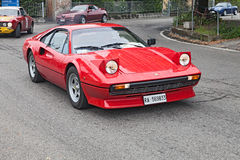 Vintage Ferrari 208 GTB Stock Photos