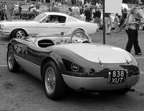 Vintage ferrari sports car royalty free stock photo