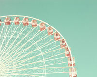 Vintage Ferris Wheel Foto de Stock Royalty Free