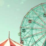 Vintage Ferris Wheel Photographie stock