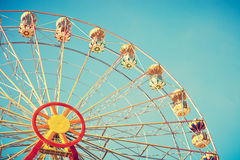 Vintage Ferris Wheel Image stock