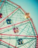 Vintage Ferris Wheel Images libres de droits