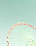 Vintage Ferris Wheel Image stock
