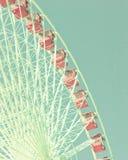 Vintage ferris wheel Stock Photos