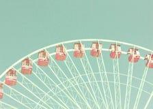 Vintage ferris wheel Stock Images