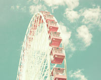 Vintage Ferris Wheel Royalty Free Stock Photo