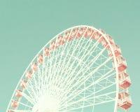 Vintage Ferris Wheel Royalty Free Stock Photos