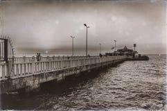 Vintage Ferry Dock Royalty Free Stock Photos