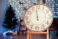 Vintage festivo watches01 de la Navidad Imágenes de archivo libres de regalías