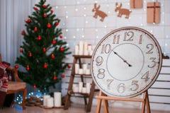 Vintage festivo watches03 de la Navidad Imágenes de archivo libres de regalías