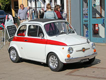 Vintage fiat abarth 695 Stock Photo
