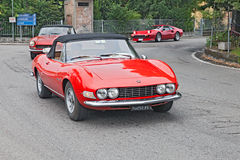 Vintage Fiat Dino Spyder Stock Images