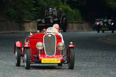 Vintage Fiat at retro car race Leopolis Grand Prix Royalty Free Stock Images
