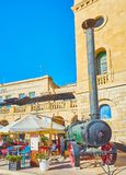 The vintage field kitchen, Birgu, Malta Stock Photography