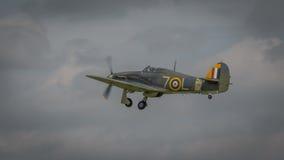 Vintage fighter plane Stock Image