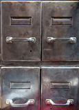 Vintage file cabinet Royalty Free Stock Image