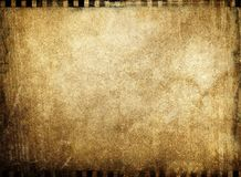 Vintage film background. Pattern of vintage film background Royalty Free Stock Images