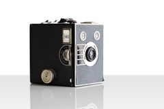 Vintage film box camera first introduced in 1900 Stock Photography