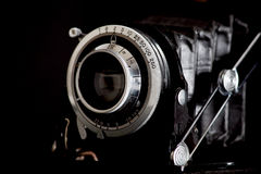 Vintage film camera Stock Photography