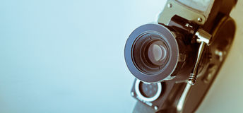 Vintage Film Camera Stock Photo
