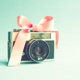 Vintage Film Camera Stock Images