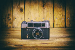 Vintage film cameras Royalty Free Stock Images