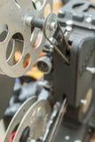 Vintage film editing machine Royalty Free Stock Photo