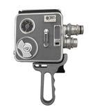 Vintage film movie camera isolated Royalty Free Stock Photos