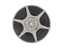 Vintage Movie Reel Stock Photo