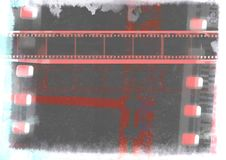 Grunge vintage film frame Royalty Free Stock Photography